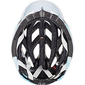 Alpina D-Alto casco per bici, white-blue-silver